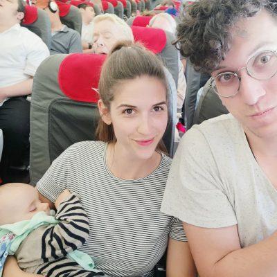 Fliegen mit Kleinkind und Baby